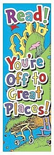Eureka Dr. Seuss Oh The Places You''ll Go Bookmark, Grades Preschool - 6th (EU-834311)