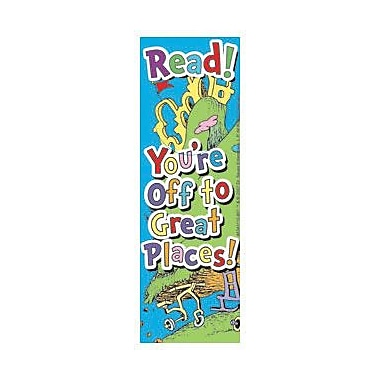 Eureka Dr. Seuss Oh The Places You'll Go Bookmark, Grades preschool - 6th, 216/Pack (EU-834311)