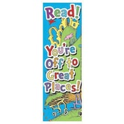 Eureka® Dr. Seuss Oh The Places You'll Go Bookmark, Grades preschool - 6th