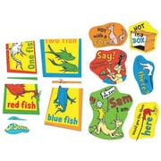 Eureka® Two-Sided Deco Kit, Dr. Seuss Fish Fox and Sam
