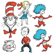 Eureka® Two-Sided Deco Kit, Dr. Seuss Characters