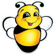 "Eureka 841207 5"" DieCut Bee Paper Cut-Outs Accents, Multicolor"