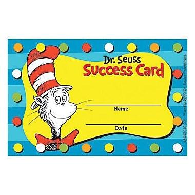 Eureka® Dr. Seuss Cat in the Hat Reward Punch Card