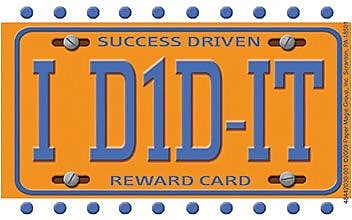 Eureka® License Plate Reward Punch Card, 36/PK, 6 PK/BD