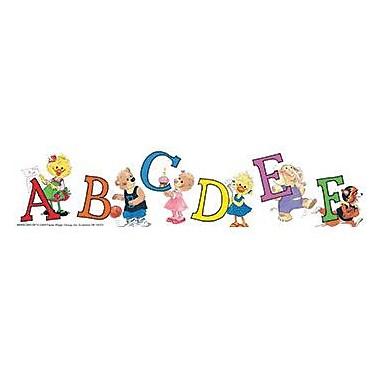 Eureka® Suzy Zoo® Pre School - 8th Grades Straight Deco Trim, Character Letters