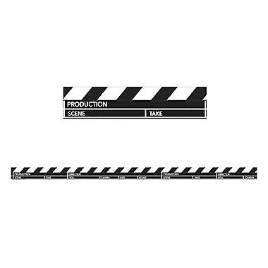 Eureka® Pre School - 12th Grades Straight Deco Trim, Hollywood Clapboard