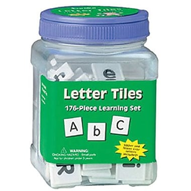 Eureka Letter Tiles Learning Set, 352/Pack (EU-867410)