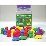 Eureka Tub of Animal Counters, 100/Pack (EU-867470)