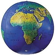 "Replogle Globes Inflatable Topographical Globe, 12""(Dia), 2 Ea"