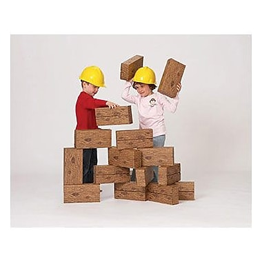 Smart Monkey® Giant Timber Building Block Set, 16/Set