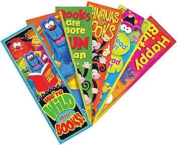 Trend Bookmarks, Clever Characters Variety Pack
