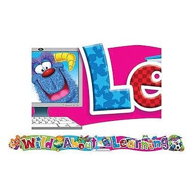 Trend Enterprises® Pre-kindergarten - 6th Grades Banner, Furry Friends Wild About Learning