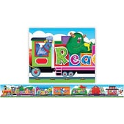 Trend Enterprises® Pre-kindergarten - 6th Grades Banner, Furry Friends Reading Train