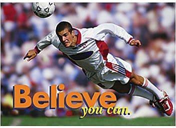 Trend Enterprises® ARGUS® Poster, Believe You Can