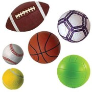 Edupress Bulletin Board Accents, Sports