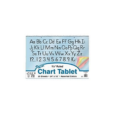 Pacon Coloured Paper Chart Tablet Paper, 1