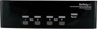StarTech SV431DDVDUA DVI/VGA KVM Switch, 4 Ports