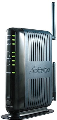 Actiontec GT784WN-NF Modem/Wireless Router, 2.4GHz