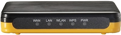 CP Technologies WBR-6802 LevelOne Wireless-N Router, 2.4GHz
