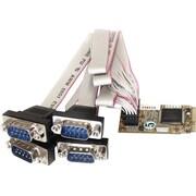 StarTech MPEX4S552 4 Port Mini PCI Express Serial Adapter Card
