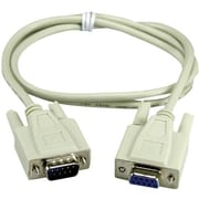 QVS® CC317 Extension Serial Cable, 3'(L)