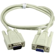 QVS® CC317 Extension Serial Cable, 6'(L)