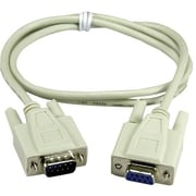 QVS® CC317 Extension Serial Cable, 25'(L)