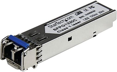 StarTech SFPG1320C Cisco Compatible Gigabit Fiber SFP Transceiver Module With DDM