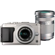 Olympus E-PL5 16 MP Digital Camera, Silver, (11196688)