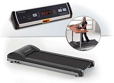 Lifespan Under-Desk Treadmill, Gray (TR1200-DT3)