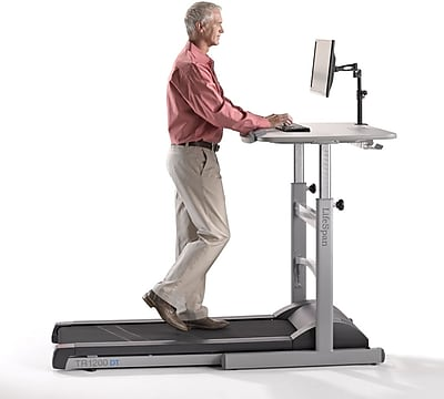 Lifespan Treadmill Desk, Gray (TR1200-DT5)