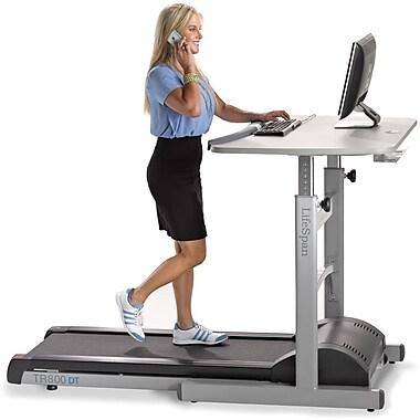 Lifespan Treadmill Desk Gray Tr800 Dt5