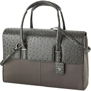 "Francine Collection London Computer Bag for 15.6"", Ostrich Grey"