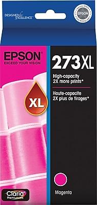 Epson 273XL Magenta Ink Cartridge (T273XL320-S), High Yield