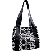 Fit & Fresh Venice Insulated Designer Lunch Bag with Ice Pack - Hexagon