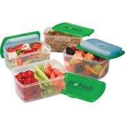 Fit & Fresh Smart Portion 2 Cup Chilled Containers Set