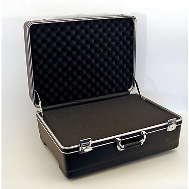 Platt 221609BH Heavy-Duty Polyethylene Case With Wheels And Telescoping Handle
