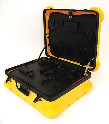 Platt Luggage 349T-SGSH Military Type Super-Size Tool Case, Yellow