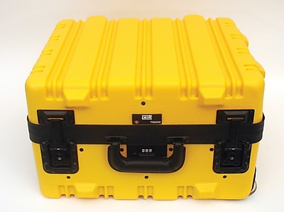 Platt 369THY-SGSH Super-Size Tool Case With Wheels And Telescoping Handle, Yellow