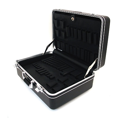 Platt 928T-CB Deluxe Polyethylene Tool Case With Chrome Hardware