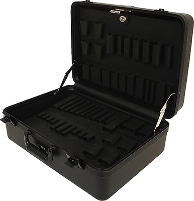 Platt 978T-CB Ultimate Polyethylene Tool Case With Black Hardware
