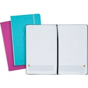 "AT-A-GLANCE® Perfect-Bound Planning Notebook, Raspberry & Teal, 5-1/8"" x 8-1/4"""