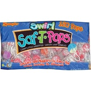 Spangler Swirl Saf-T-Pops 120/Bx