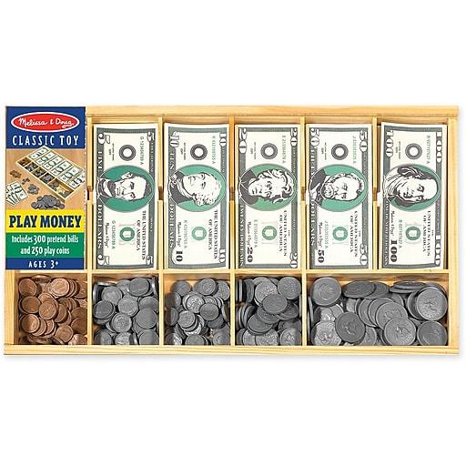 Melissa & Doug Play Money Set (1273)