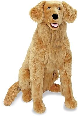Melissa & Doug Golden Retriever Giant Dog Stuffed Animal (2109)