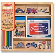 Melissa & Doug Vehicles Stamp Set (2409)