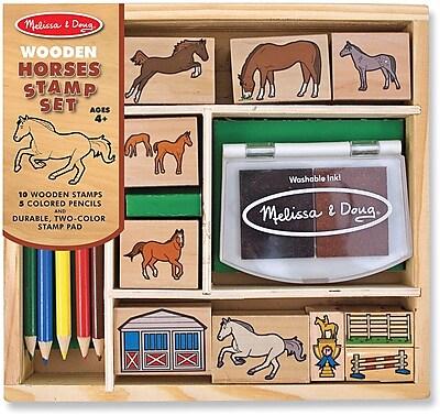 Melissa & Doug Horses Stamp Set (2410)