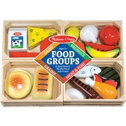 Melissa & Doug Food Groups - Wooden Play Food (271)