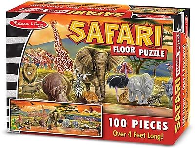 Melissa & Doug Safari Floor Puzzle Floor (100 pc)