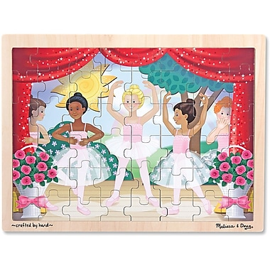 Melissa & Doug Ballet Performance Wooden Jigsaw Puzzle - 48pc